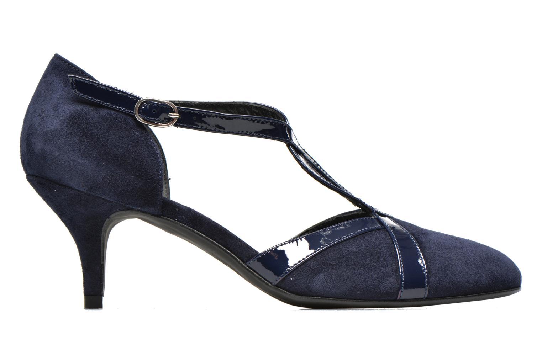 High heels Georgia Rose Titine Blue back view