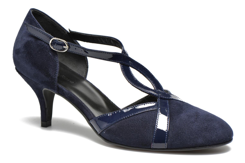 High heels Georgia Rose Titine Blue detailed view/ Pair view