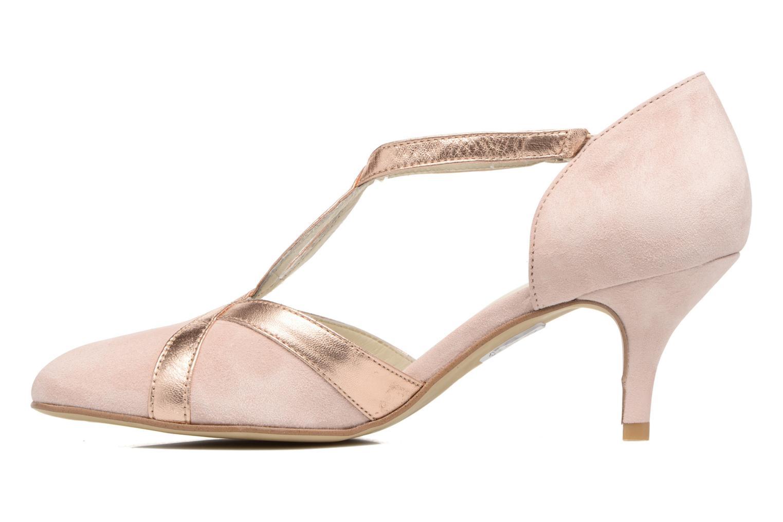 Zapatos de tacón Georgia Rose Titine Rosa vista de frente