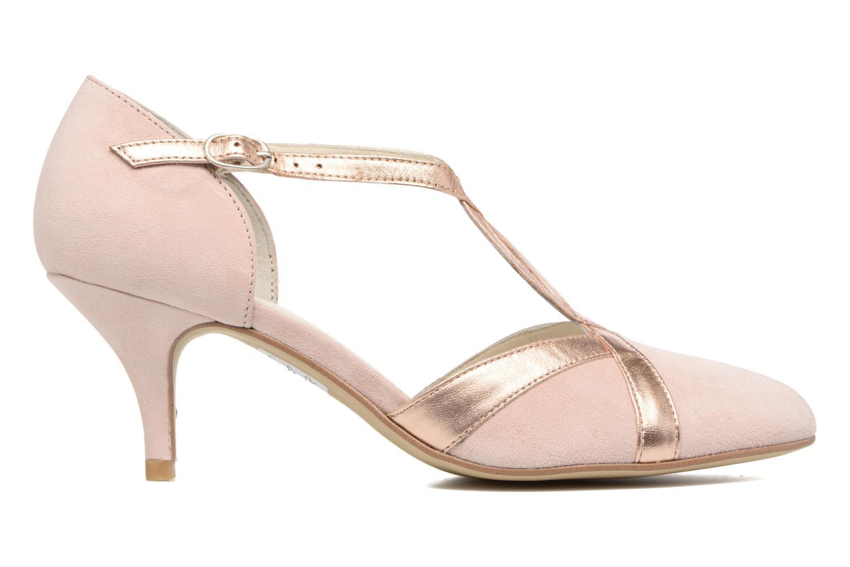 Zapatos de tacón Georgia Rose Titine Rosa vistra trasera