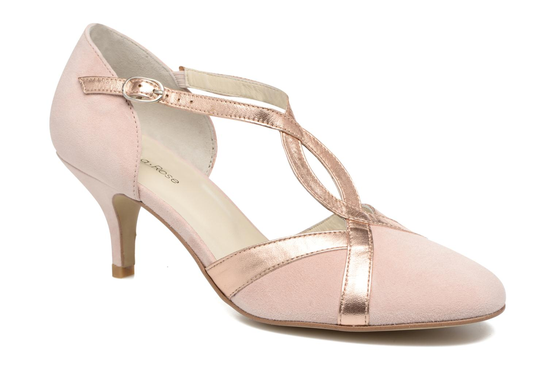 High heels Georgia Rose Titine Pink detailed view/ Pair view