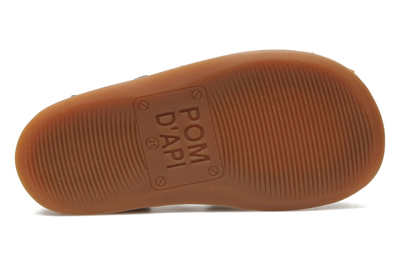 Sandales et nu-pieds Pom d Api Yapo Papy Buckle Bleu vue haut