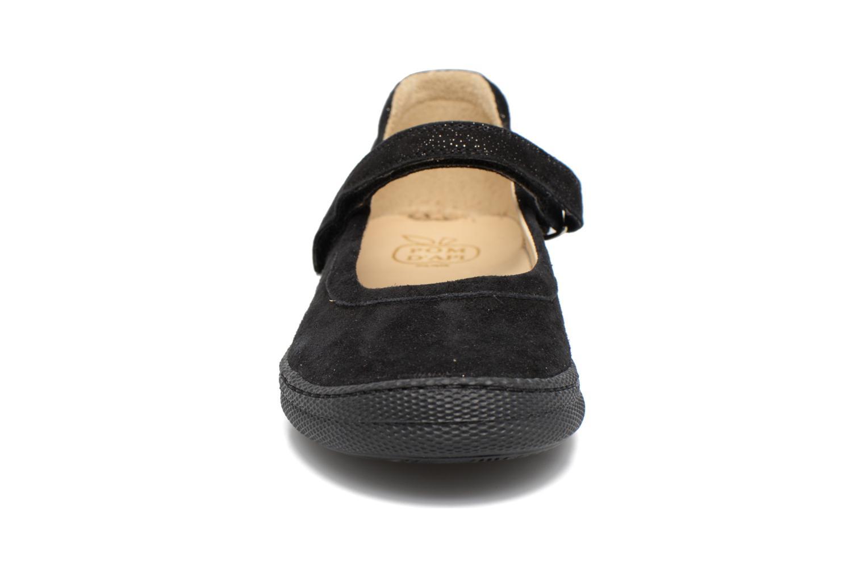 Ballerines Pom d Api NEW SCHOOL BABY Noir vue portées chaussures