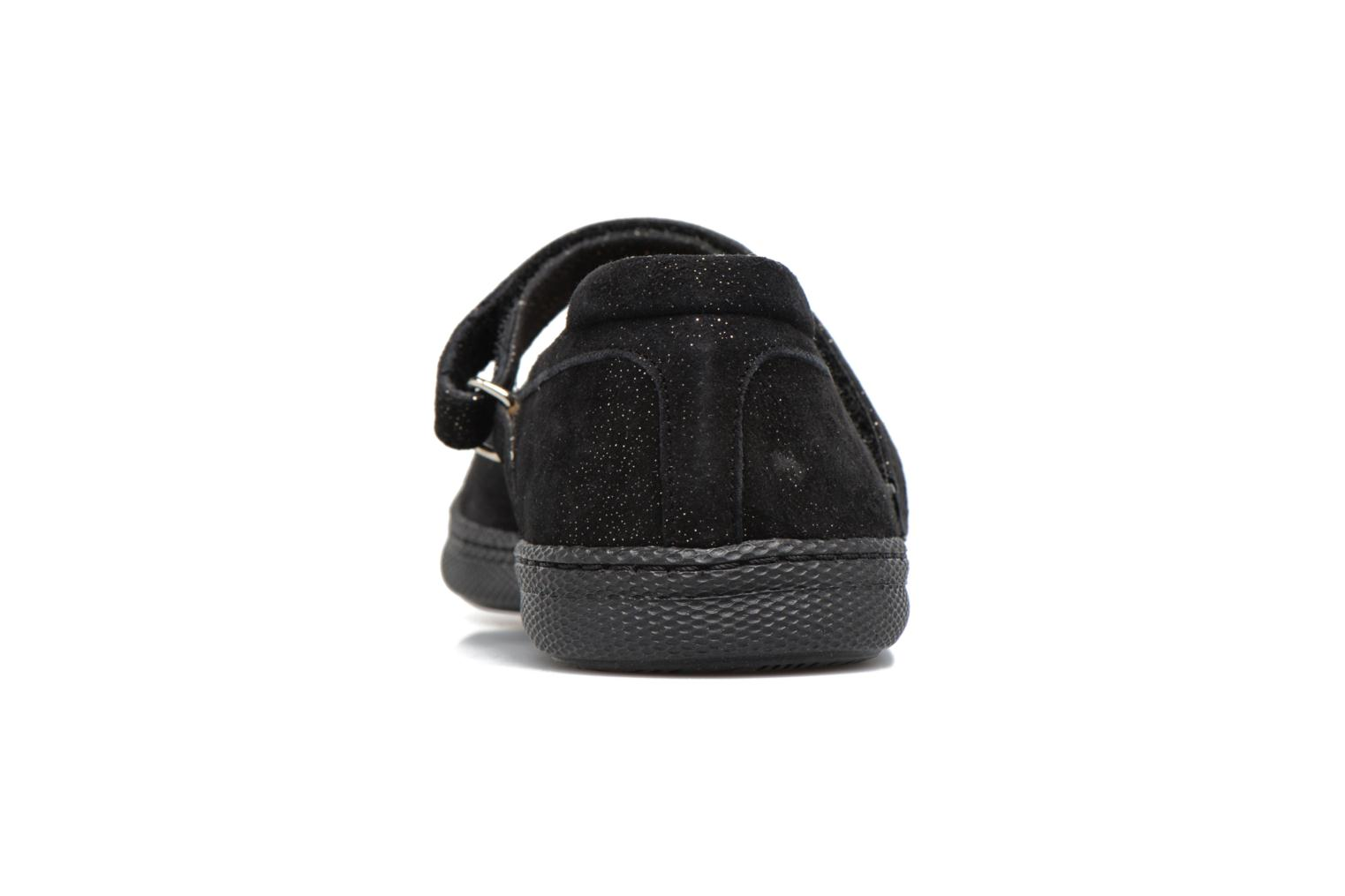 NEW SCHOOL BABY Camurca Black Gold