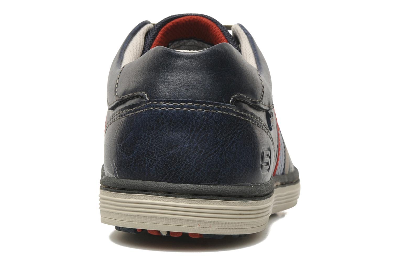 Sneakers Skechers Sorino Duarte 64060 Azzurro immagine destra