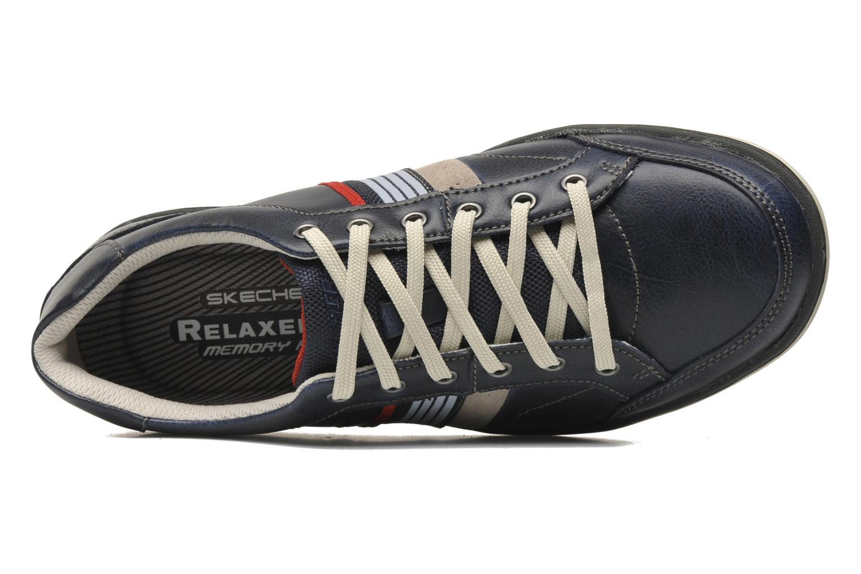 Sneakers Skechers Sorino Duarte 64060 Azzurro immagine sinistra