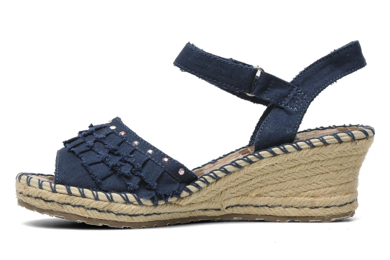 Sandales et nu-pieds Skechers TikisRuffle Ups Bleu vue face