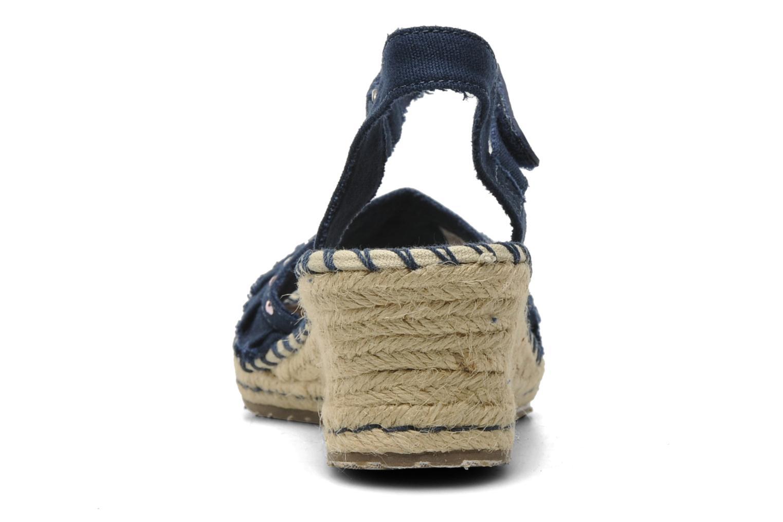 Sandales et nu-pieds Skechers TikisRuffle Ups Bleu vue droite