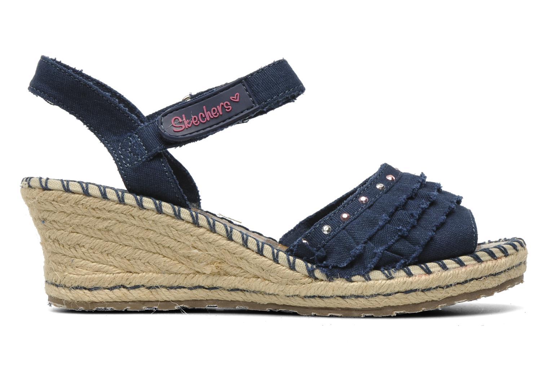 Sandales et nu-pieds Skechers TikisRuffle Ups Bleu vue derrière