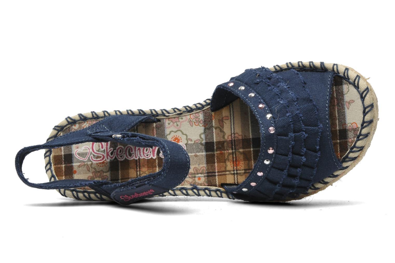 Sandalen Skechers TikisRuffle Ups blau ansicht von links