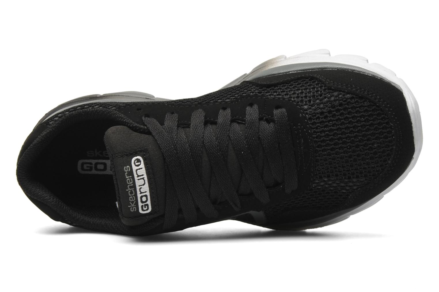 Baskets Skechers GO Run Ride-Supreme Noir vue gauche
