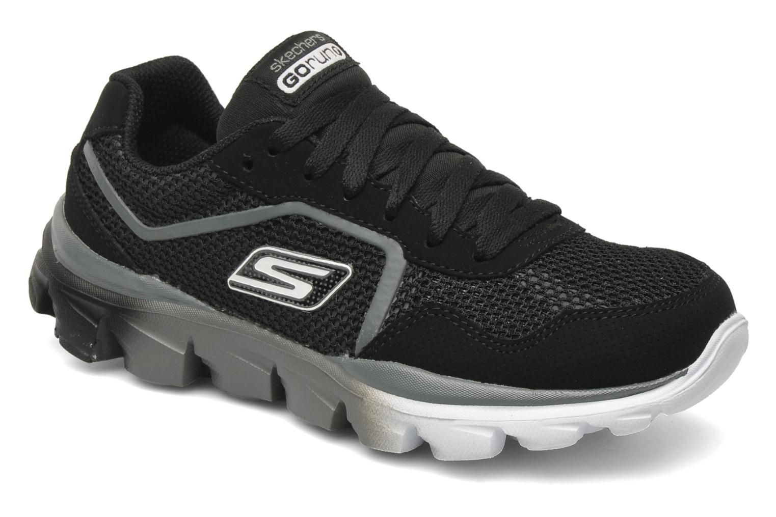 Baskets Skechers GO Run Ride-Supreme Noir vue détail/paire