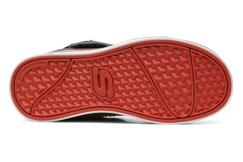 Sneaker Skechers Kelp Assemble grau ansicht von oben