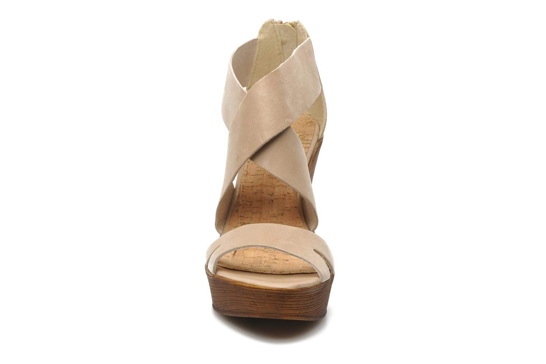 Sandalen Bullboxer Koray beige schuhe getragen