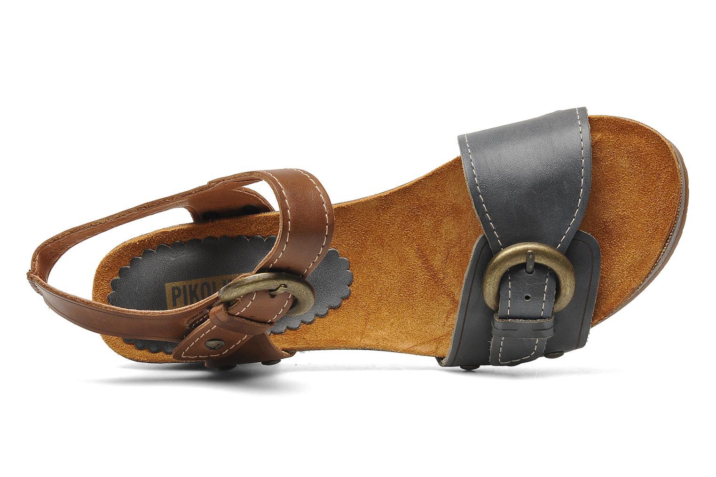 Praga 9444 jeans-cuero
