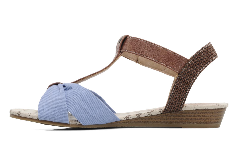 Sandales et nu-pieds Mustang shoes Beibei Bleu vue face