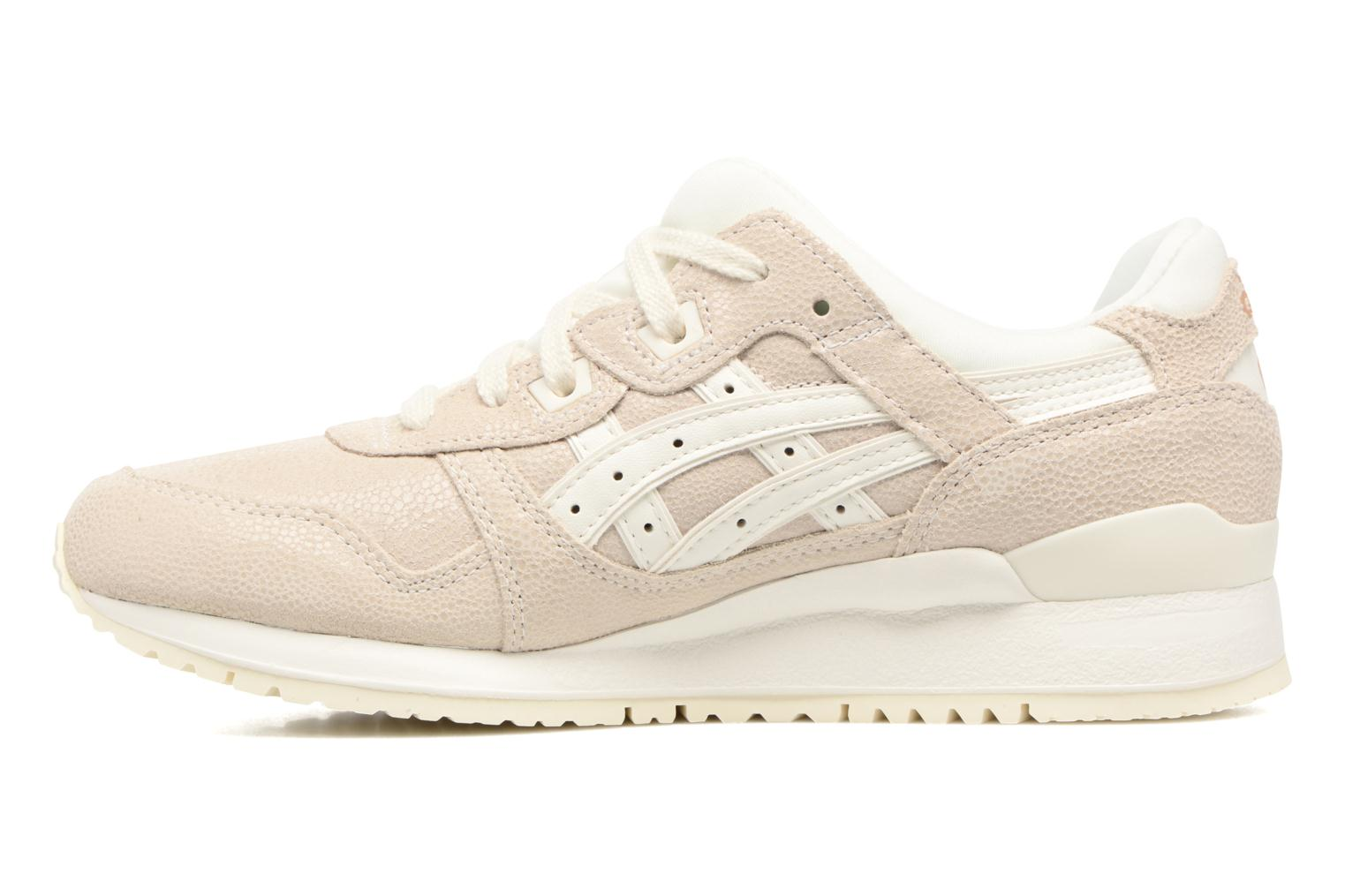 Baskets Asics Gel-Lyte III W Beige vue face