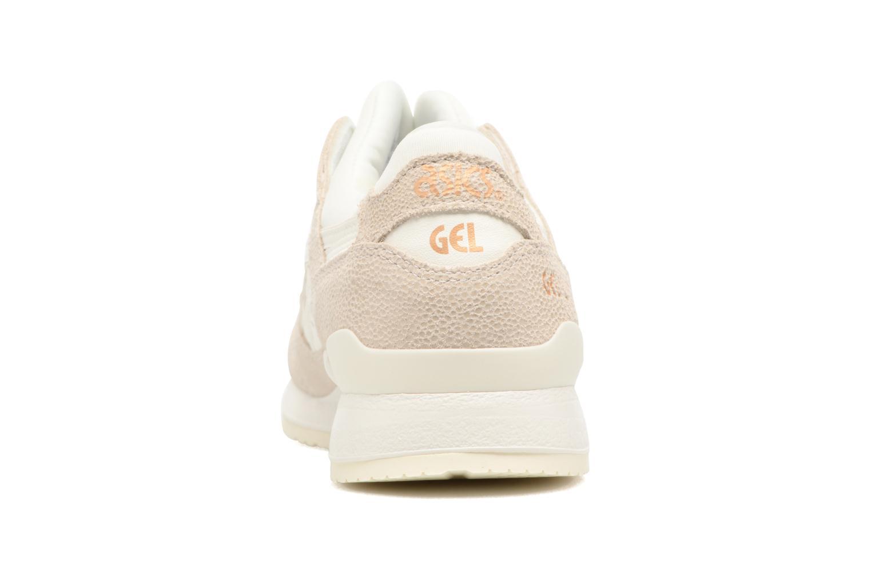 Sneaker Asics Gel-Lyte III W beige ansicht von rechts