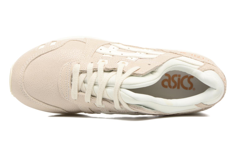 Sneaker Asics Gel-Lyte III W beige ansicht von links
