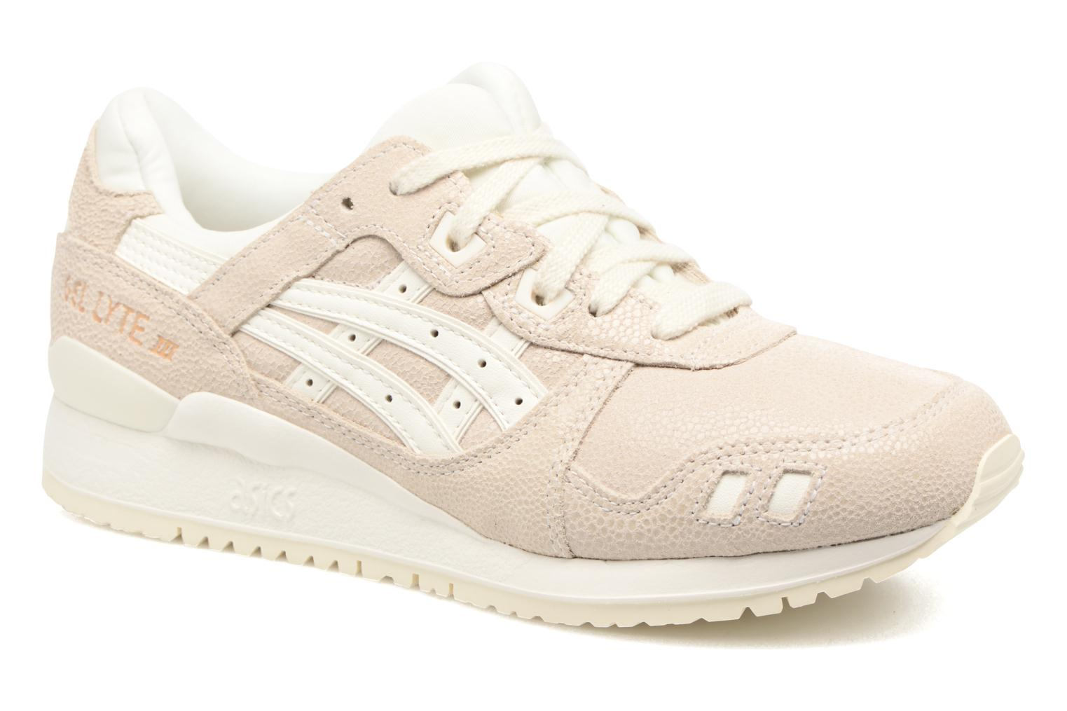 Trainers Asics Gel-Lyte III W Beige detailed view/ Pair view