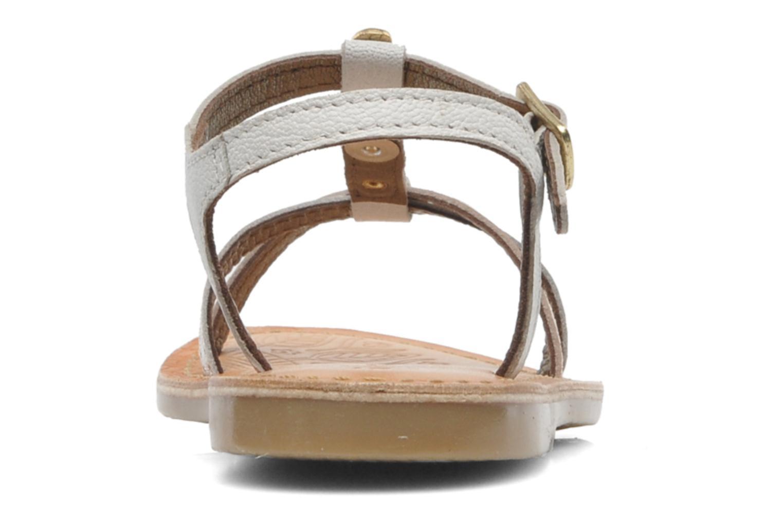 Sandalen Mod8 ZITOU weiß ansicht von rechts