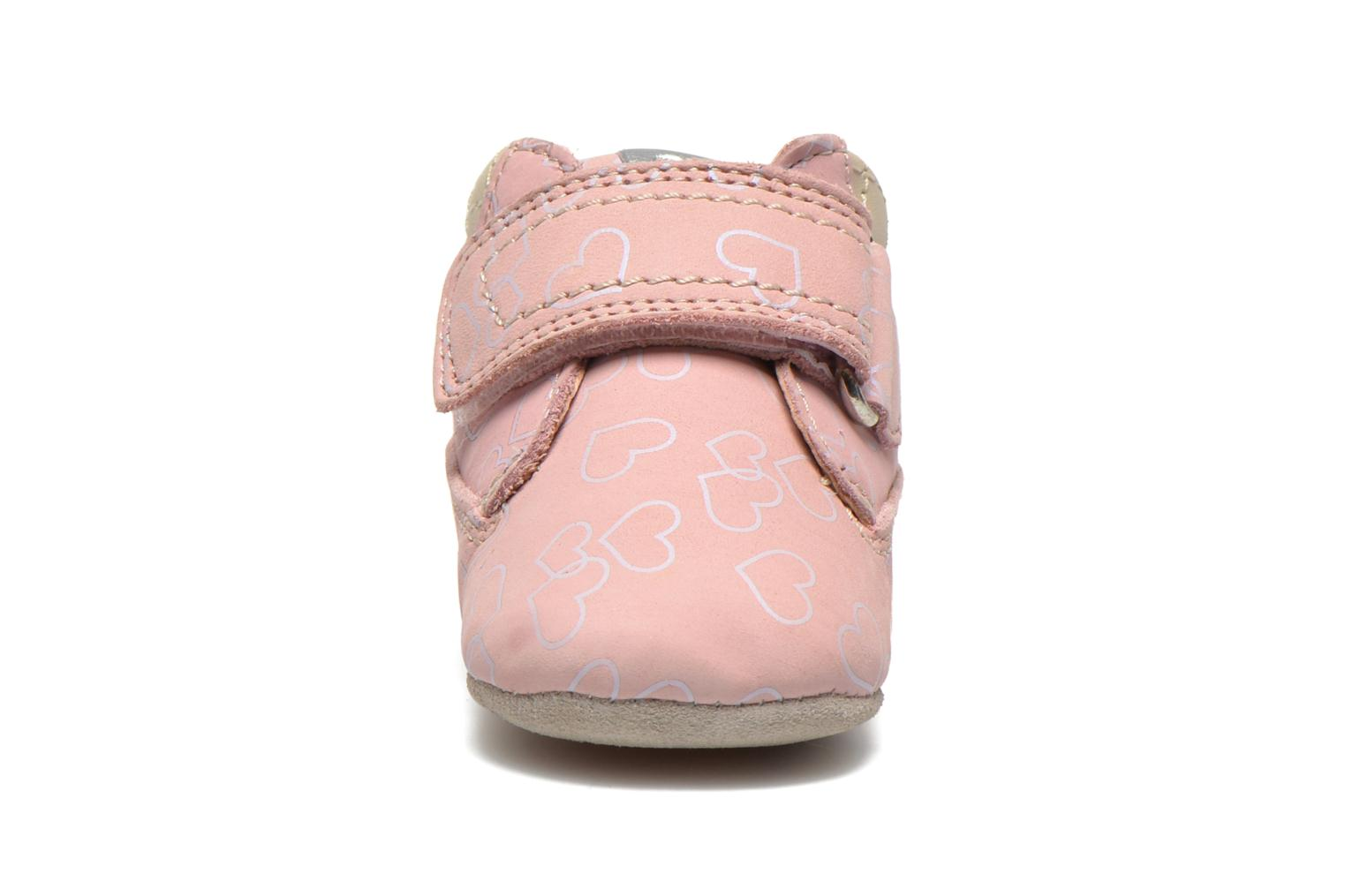 Baskets Geox B IAN A Rose vue portées chaussures