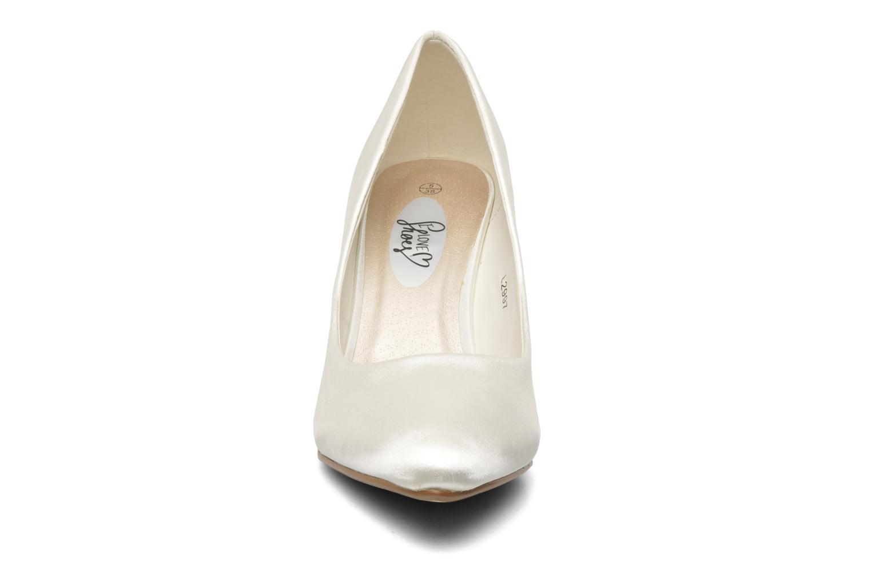Escarpins I Love Shoes Kindy Blanc vue portées chaussures