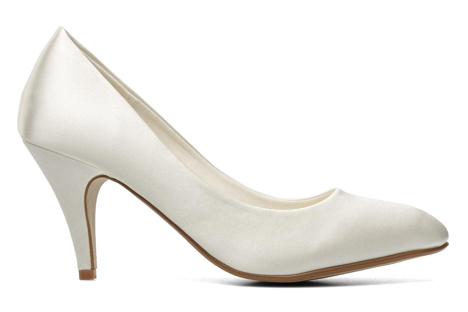 High heels I Love Shoes Kindy White back view