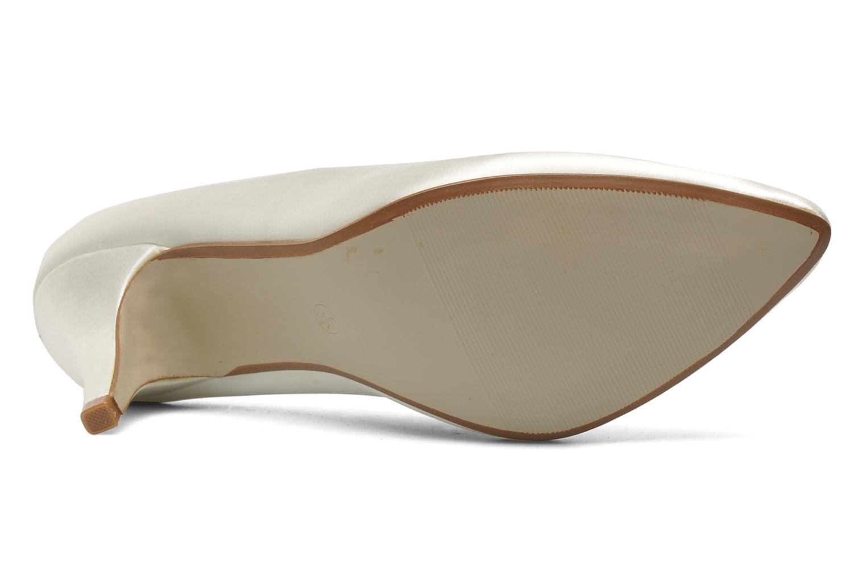 Escarpins I Love Shoes Kindy Blanc vue haut