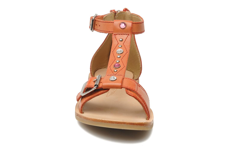 Sandales et nu-pieds Shwik LAZAR BELT Orange vue portées chaussures