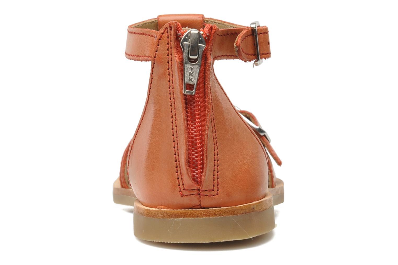 Sandales et nu-pieds Shwik LAZAR BELT Orange vue droite