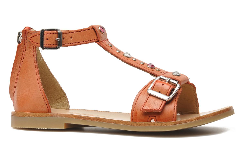 Sandales et nu-pieds Shwik LAZAR BELT Orange vue derrière