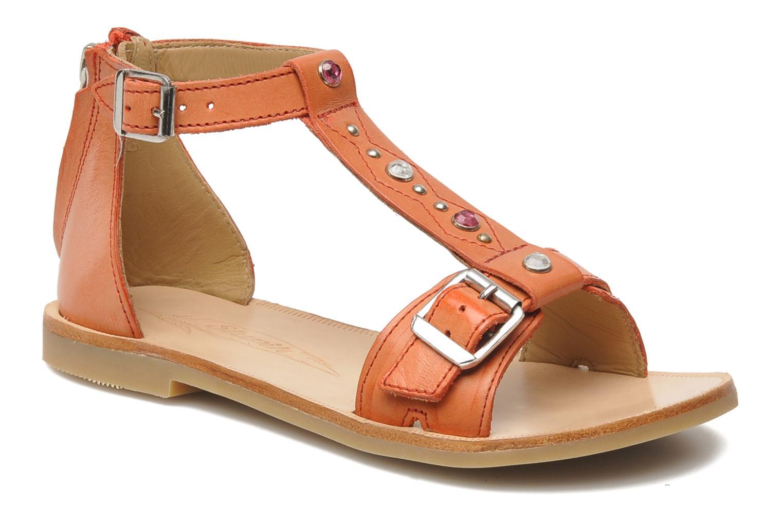 Sandales et nu-pieds Shwik LAZAR BELT Orange vue détail/paire