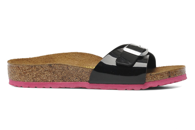 Sandales et nu-pieds Birkenstock Madrid Birko-Flor Noir vue derrière