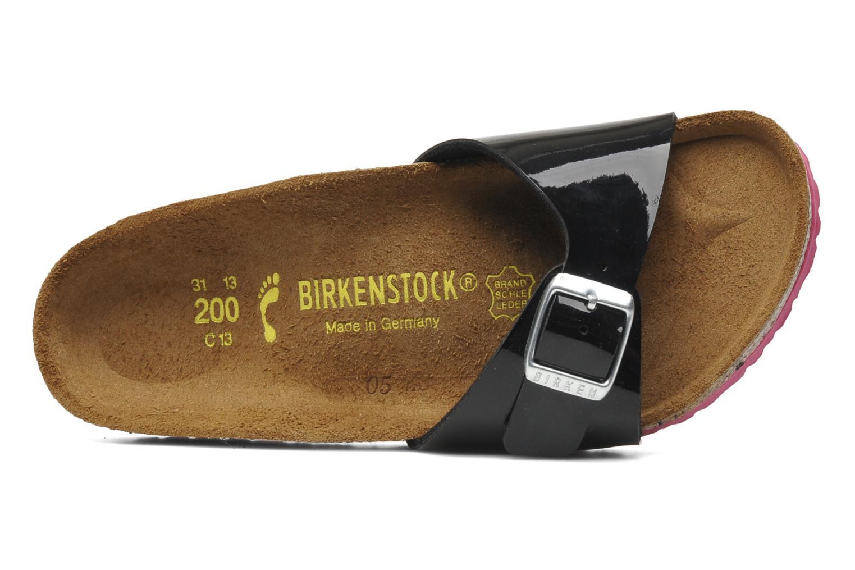 Sandales et nu-pieds Birkenstock Madrid Birko-Flor Noir vue gauche
