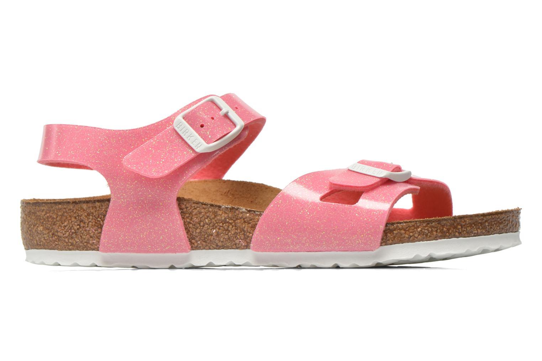 Sandaler Birkenstock Rio Birko Flor Pink se bagfra