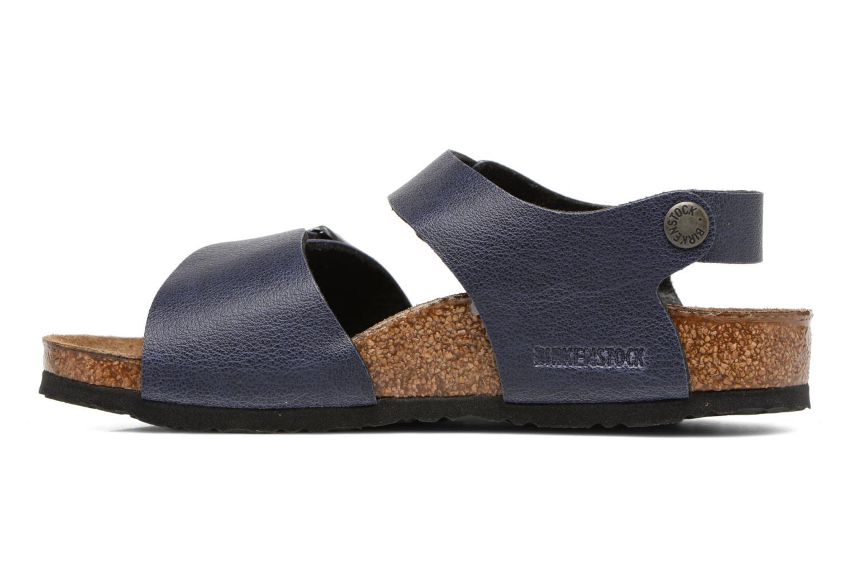 Sandals Birkenstock New York Birko Flor Blue front view