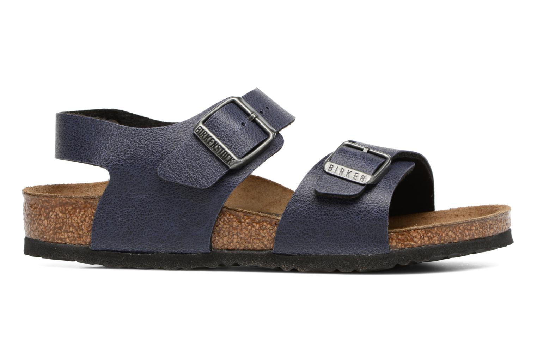 Sandals Birkenstock New York Birko Flor Blue back view