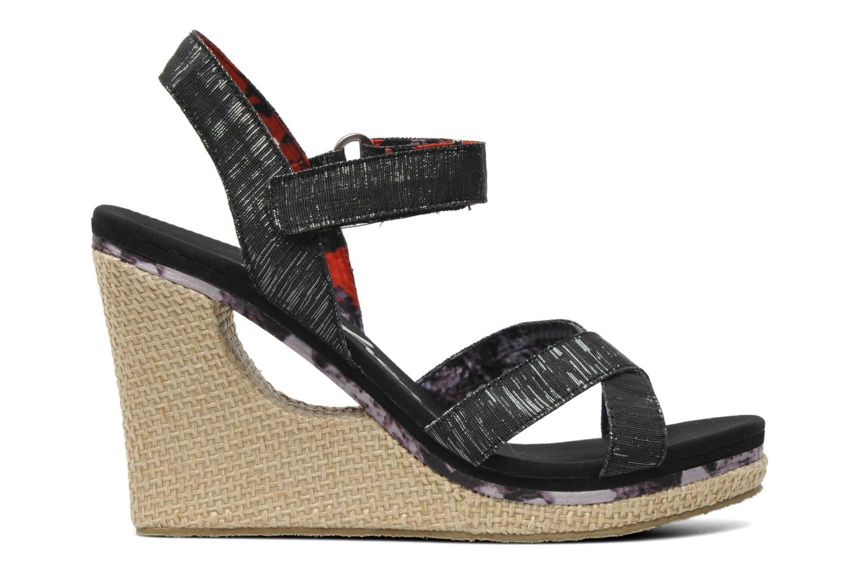 Sandalen Skechers Loveshine / Crazy Style Zwart achterkant
