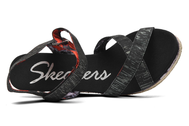 Sandalen Skechers Loveshine / Crazy Style Zwart links