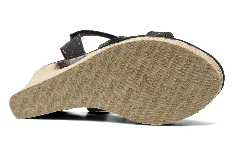 Sandalen Skechers Loveshine / Crazy Style Zwart boven