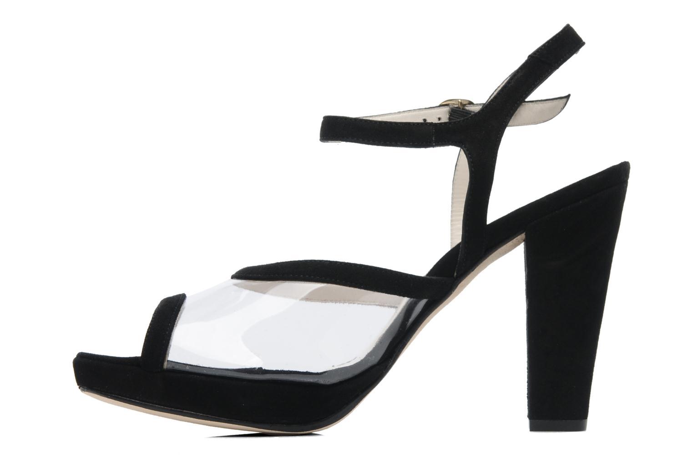 Sandales et nu-pieds Georgia Rose Artemis Noir vue face