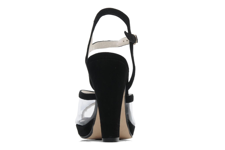 Sandales et nu-pieds Georgia Rose Artemis Noir vue droite