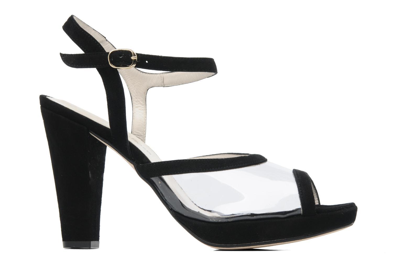 Sandales et nu-pieds Georgia Rose Artemis Noir vue derrière