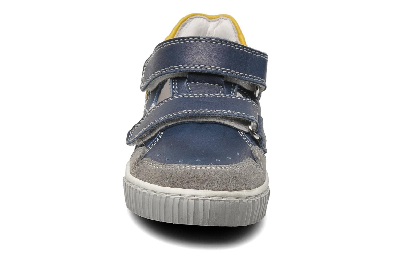 Baskets Romagnoli Nufnuf Bleu vue portées chaussures