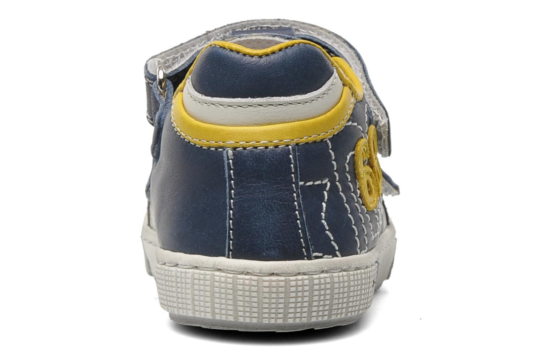 Baskets Romagnoli Nufnuf Bleu vue droite