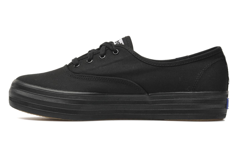 Sneakers Keds Triple Zwart voorkant