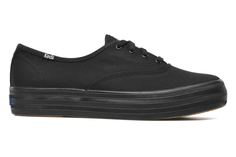 Sneakers Keds Triple Zwart achterkant