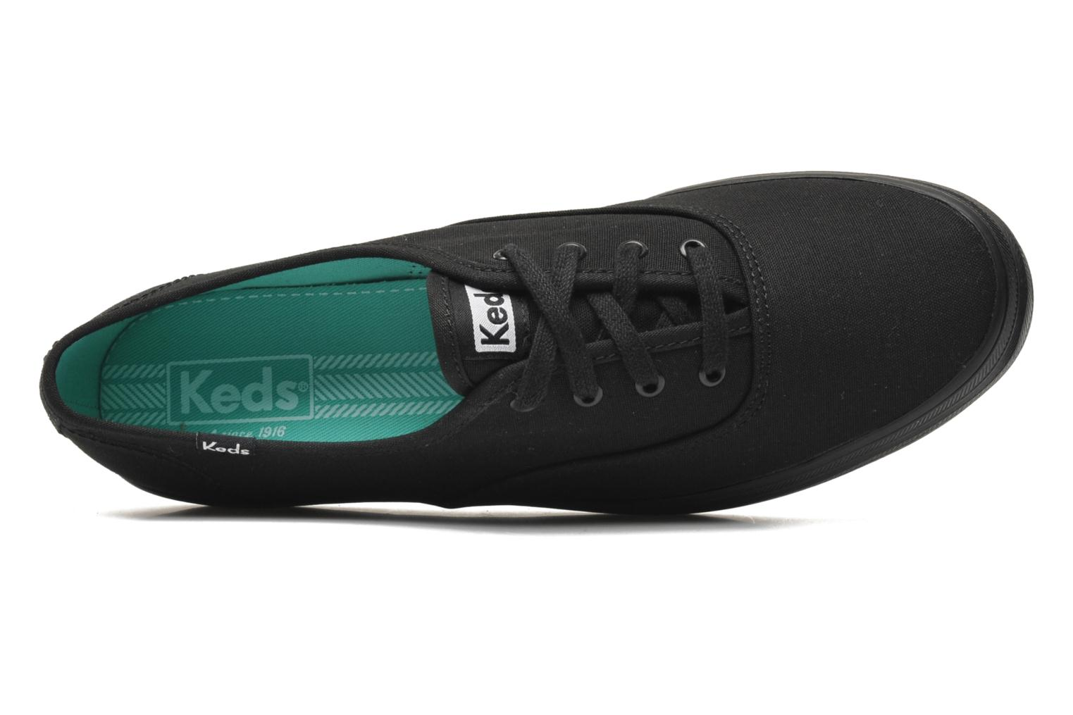 Trainers Keds Triple Black view from the left