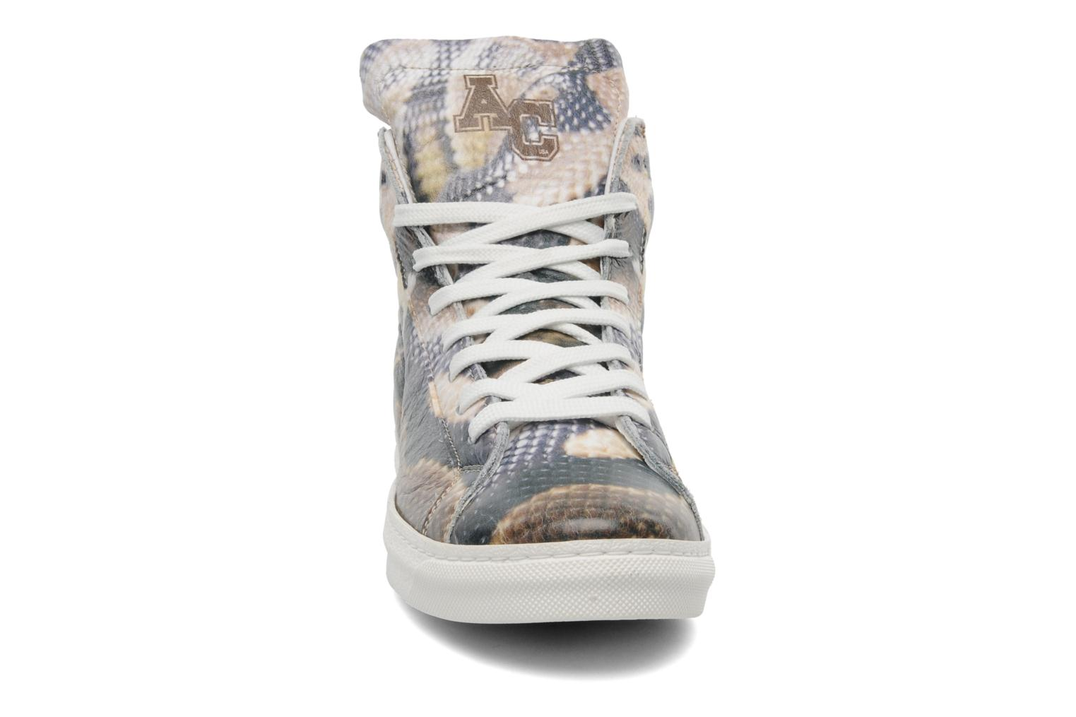 Baskets American College Animal w Multicolore vue portées chaussures